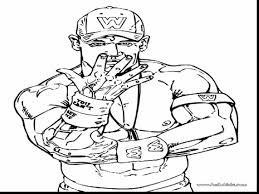 spectacular john cena coloring page printable pages with john cena