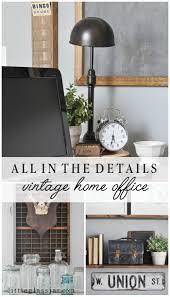 Vintage Home Office Furniture Vintage Home Office Vintage Office Designs And Office Spaces Decor