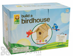 House Kit by Build And Paint A Bird House Kit 2953