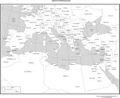 blank map of europe including black white and coloring page black