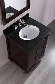 Contemporary Bathroom Sinks Bosconi 25 Inch Contemporary Single Sink Bathroom Vanity