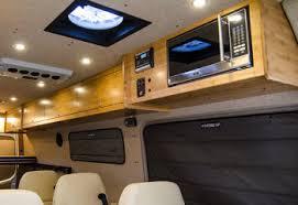 Conversion Van Interiors Interior And Exterior Options For Custom Vans