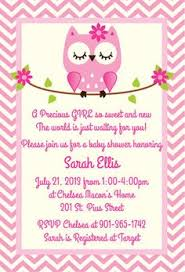 owl invitations for baby shower owl invitations for baby shower