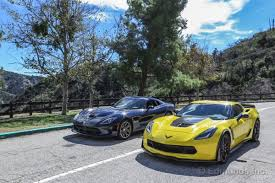 corvette vs viper performance tested versus corvette z06 2015 dodge viper gt