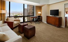 Bedroom Floor Downtown Los Angeles Accommodation One Bedroom Tower Suite The