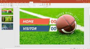 super bowl live score presentationpoint