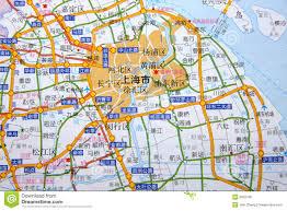 Shanghai Map Shanghai On The Map Royalty Free Stock Image Image 5650796