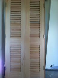 popular rustic louvered closet doors style how to build a