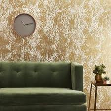 cb2 jackson gold and ivory traditional paste wallpaper home