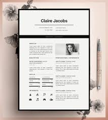 cv design resume template design resume bundle graphicriver jobsxs