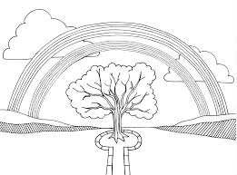 rainbow coloring pages for kids glum me