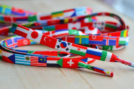 Countries Of The World Flags Flags Of The World Shoe Laces Countries Travel Shoelaces
