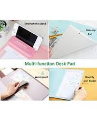 desk pad calendar protector find the best deals on mirstan large size mouse pad anti slip desk