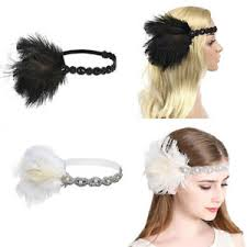 1920s headband uk 1920s headband feather 20 s bridal great gatsby flapper