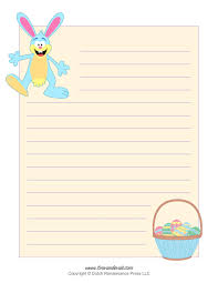blank kindergarten writing paper free writing page where to buy cute writing paper letter writing images of easter writing paper weddings pro easter bunny template easter bunny clipart and coloring pages