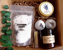 Christmas Bath Gift Set by Bath Gift Set Etsy