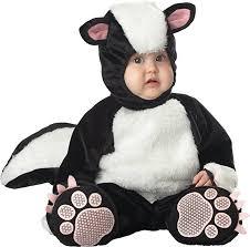 Baby Boy Halloween Costumes 0 3 Months Amazon Incharacter Baby Lil U0027 Stinker Skunk Costume Clothing