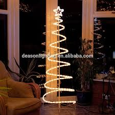 light silhouettes led christmas tree with decorations 1 2