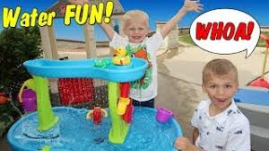 step 2 rain showers splash pond water table family fun pack videos youtube worldwide web