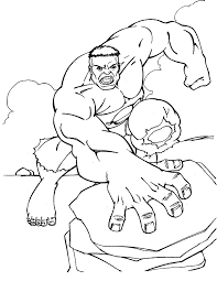 hulk smash coloring pages coloring
