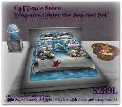 second life marketplace treasure of the ocean bedroom set
