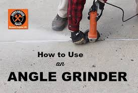 How To Regrout Patio Slabs How To Use An Angle Grinder And Cut Through Anything Home