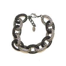 crystal link bracelet images Pave crystal chain link bracelet shay accessories jpg