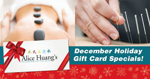 gift card specials december gift card specials huangs therapies