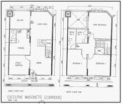 Maisonette Floor Plan Hougang Street 21 Hdb Details Srx Property