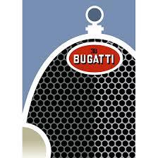 bugatti grand sport art deco poster new vintage posters