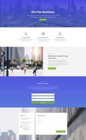 Free Email Addresses For Businesses by Download An Amazing Free Divi Business Layout Pack Elegant