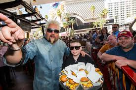 guy fieri s home kitchen design guy fieri celebrates one year anniversary of guy fieri u0027s vegas