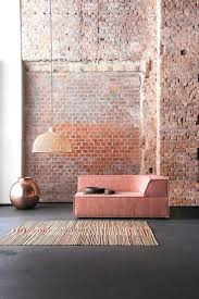 Wooden Arm Chair Online India Wall Ideas Blush And Brick Corner Sectional Fabric Armchair Trio