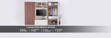 Wardrobe Designs Catalogue India by Wardrobe Designs Buy Wooden Wardrobes Online Urban Ladder