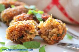 recette de cuisine vegetarienne kibbeh entrée libanaise les joyaux de sherazade