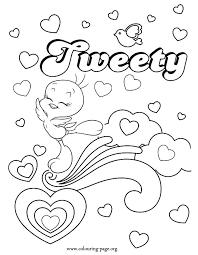 tweety pics kids coloring