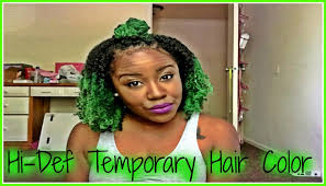 grey hair spray for halloween temporary color using jerome russell hair spray on natural hair