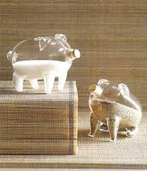 roost pair of pigs salt u0026 pepper shakers set of 2 u2013 modish store