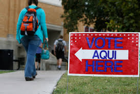 a federal judge ruled that a texas voter id law was intentionally