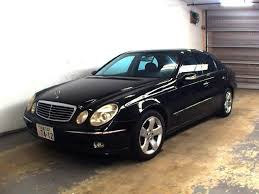 2003 mercedes e class used mercedes e class for sale at pokal japanese used