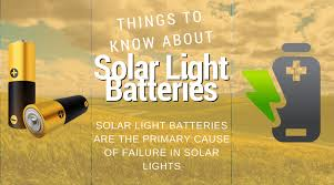 can you use regular batteries in solar lights a few important things to know about solar light batteries