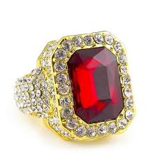 ruby red rings images Iced out ruby ring supremepatty jpg