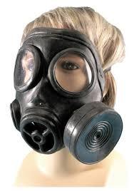 Masker Gas style gas mask
