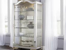 Ideas Design For Lighted Curio Cabinet White Curio Cabinet Curio Cabinet Dining Room Sets White