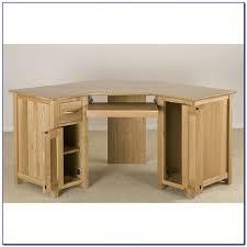 Small Corner Computer Desk by Solid Wood Corner Computer Desk Uk Desk Home Design Ideas