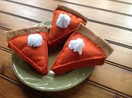 A Chef Slicing A Pumpkin by Felt Food Felt Pumpkin Pie Slice Pumpkin Pie Kids Baking