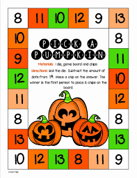 Halloween Game Board Could Do This By Rolling 2 Dice And Adding