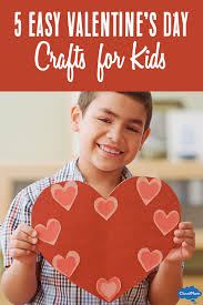 Valentine S Day Homemade Decorations Ideas by 5 Easy Valentine U0027s Day Crafts For Kids Cloudmom