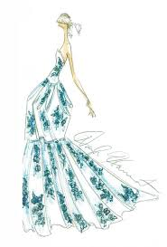 sketch to dress spring 2013 wedding dresses brides com brides