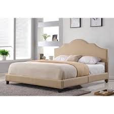 Richmond Bed Frame Abbyson Richmond Upholstered Size Bed Free Shipping Today